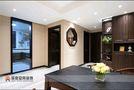 110平米三港式风格客厅装修效果图