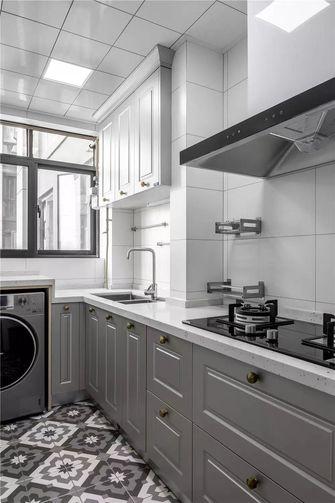 10-15万120平米三室两厅美式风格厨房图