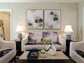 10-15万90平米三室一厅中式风格客厅装修效果图
