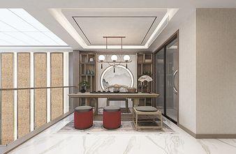 140平米别墅中式风格客厅装修效果图