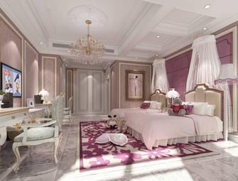 140平米复式欧式风格青少年房装修图片大全