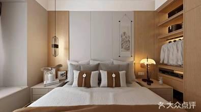 20万以上120平米三日式风格卧室设计图