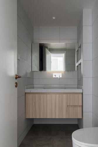 10-15万100平米三室一厅北欧风格卫生间装修图片大全