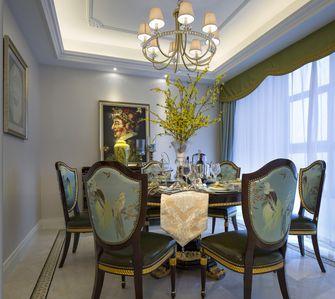 140平米复式法式风格餐厅设计图
