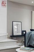 富裕型120平米复式北欧风格卧室欣赏图