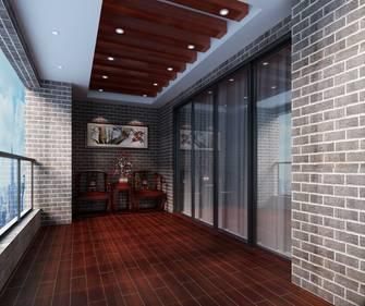 20万以上140平米四室四厅中式风格走廊装修图片大全