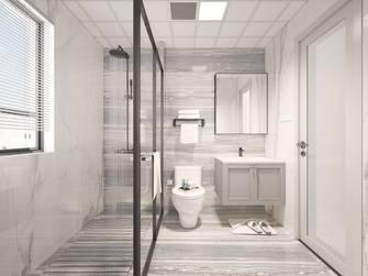 富裕型120平米三室两厅欧式风格卫生间图片