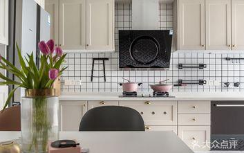 富裕型90平米复式混搭风格厨房图片大全