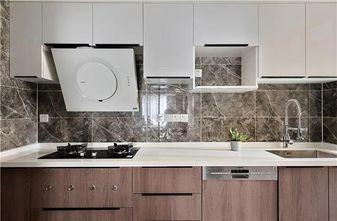 经济型120平米三现代简约风格厨房装修图片大全