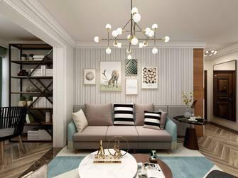 豪华型110平米三室两厅公装风格客厅设计图