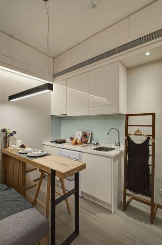 3-5万30平米超小户型北欧风格厨房装修图片大全
