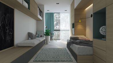 5-10万110平米三室两厅工业风风格青少年房欣赏图