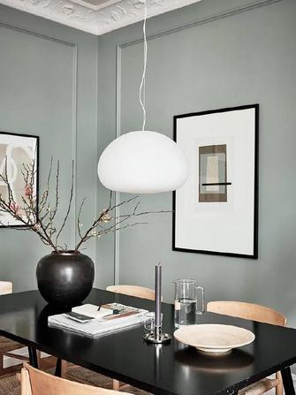 富裕型90平米现代简约风格餐厅设计图