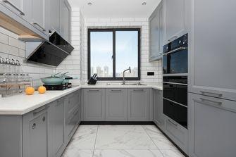 10-15万110平米三室一厅美式风格厨房欣赏图