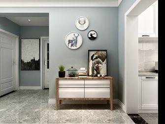 经济型80平米三室一厅北欧风格走廊装修效果图