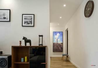 10-15万90平米三室一厅现代简约风格走廊图