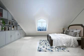 20万以上140平米复式地中海风格阁楼设计图