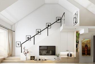 20万以上90平米三轻奢风格楼梯间图片