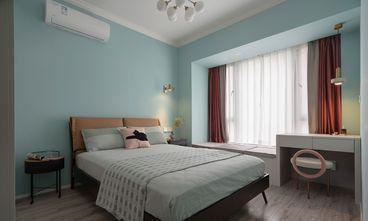经济型80平米三室一厅混搭风格卧室装修效果图