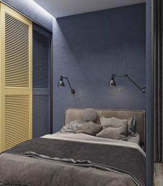 豪华型70平米复式英伦风格卧室效果图