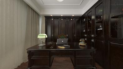 豪华型140平米四室两厅美式风格书房图片大全