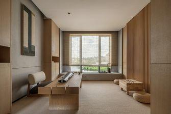 富裕型140平米四室两厅日式风格书房图