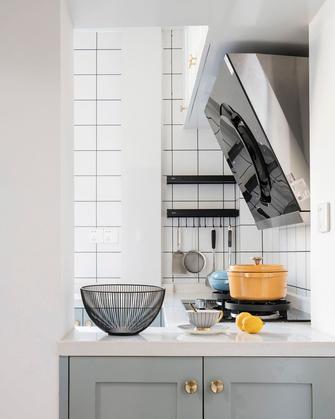 5-10万80平米三欧式风格厨房效果图