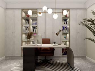 5-10万120平米三室两厅轻奢风格书房装修效果图