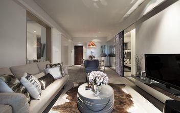 经济型120平米四室一厅北欧风格客厅装修效果图