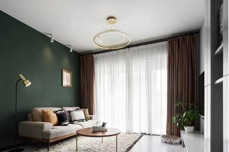经济型80平米三室一厅新古典风格客厅装修效果图