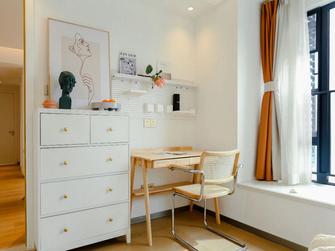 豪华型130平米三室两厅日式风格书房设计图