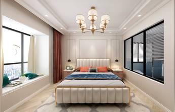 110平米四室两厅法式风格卧室装修案例