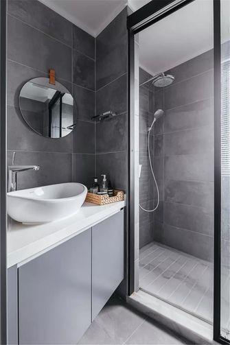 富裕型130平米四现代简约风格卫生间装修案例