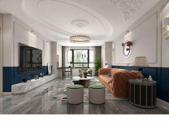 豪华型140平米三室三厅港式风格客厅图