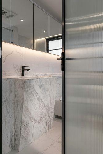 富裕型140平米三室两厅美式风格卫生间图片大全