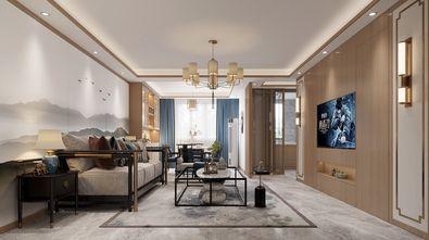 20万以上110平米中式风格客厅设计图