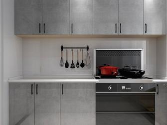 富裕型140平米四室两厅现代简约风格厨房图片