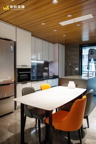 90平米港式风格厨房装修图片大全
