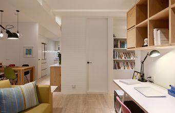 90平米北欧风格卧室效果图