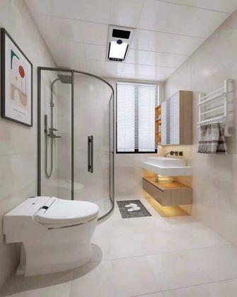 富裕型130平米三室一厅欧式风格卫生间设计图