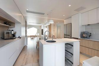 经济型90平米三室两厅日式风格厨房图