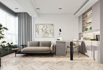 豪华型110平米现代简约风格书房设计图