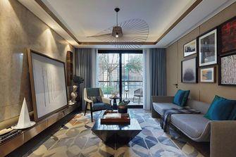 经济型110平米三室一厅港式风格客厅装修效果图