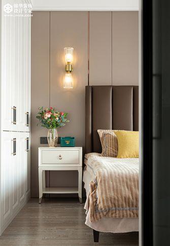 豪华型120平米三室两厅美式风格卧室图片