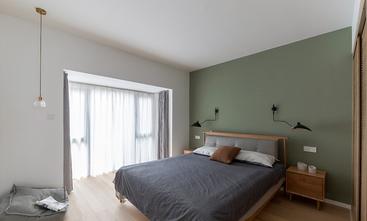 富裕型120平米三室两厅日式风格卧室图片大全