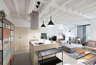 富裕型140平米四室一厅现代简约风格餐厅欣赏图
