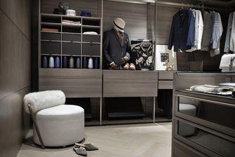 豪华型140平米三室一厅混搭风格衣帽间装修效果图