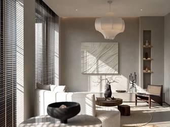 经济型60平米公寓中式风格客厅欣赏图