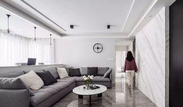 10-15万110平米三室一厅北欧风格客厅图片