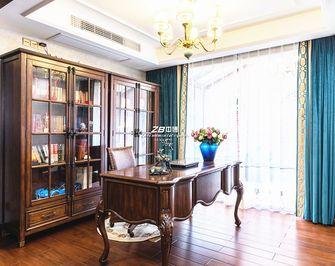 140平米别墅美式风格书房图